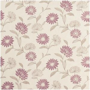 Tapet vlies model floral crem/lila 10,05x0,53 m