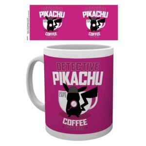 Pokemon: Detective Pikachu - Coffee Powered Cană