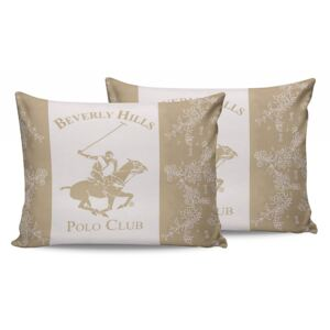 Set 2 fete de perna Beverly Hills Polo Club BHPC 013-Cream 50x70