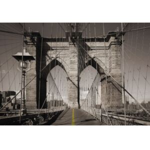 Fototapet urban Brooklyn Bridge