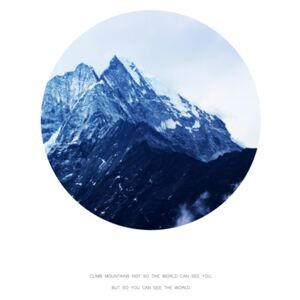 Ilustrare climb mountains not so the world can see you, Finlay Noa