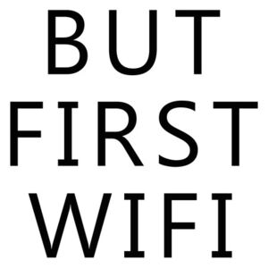 Ilustrare but first wifi, Finlay Noa