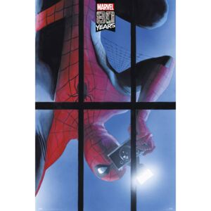 Spiderman - 80 Years Poster, (61 x 91,5 cm)