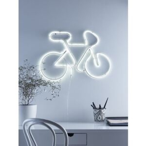 Decorațiune cu LED Markslöjd Bicycle, alb