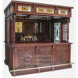 Flower Carved bar