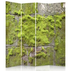 CARO Paravan - Moss On The Wall | cvadripartit | unilateral 145x150 cm