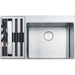 Chiuveta Inox Franke BWX 220-54-27 (Box Center) ST, 860x510 mm, Inox Satinat