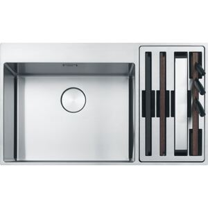 Chiuveta Inox Franke BWX 220-54-27 (Box Center) DR, 860x510 mm, Inox Satinat
