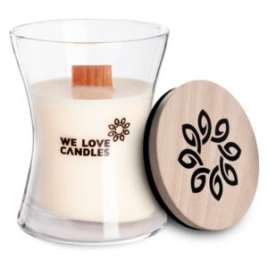 Lumânare din ceară de soia We Love Candles Ivory Cotton, 48 ore de ardere