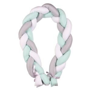 Protectie laterala Bumper impletit The Braid Mint 01