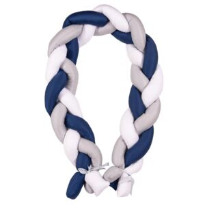 Protectie laterala Bumper impletit The Braid Grey/Navy 05