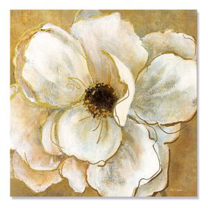 Tablou Canvas - Splendoare aurie II, Floare