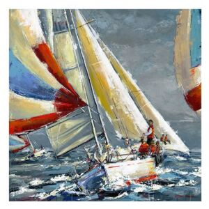 Tablou Canvas - Nautic II, Vapor, Mare, Retro