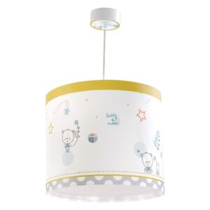 Dalber 62482 - Lampa copii TEDDY & MOON 1xE27/60W/230V