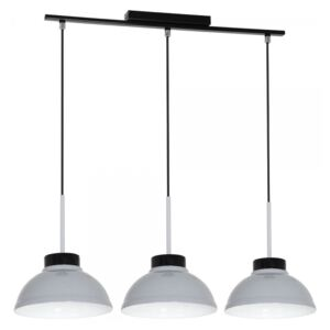 Lampa suspendata FACTOR GREY 3xE27/60W/230V