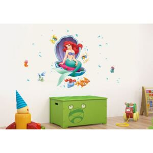 AG Design Little Mermaid - autocolant de perete 65x85 cm