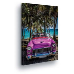GLIX Tablou - Retro Beachmobile Carsmobil II 60x40 cm