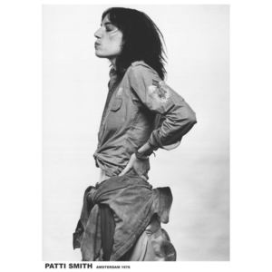 Patti Smith - Amsterdam '76 Poster, (59,4 x 84 cm)