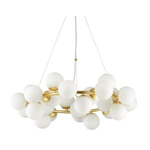 Candelabru modern 25 becuri G9 DNA 208398 IDEAL LUX