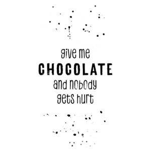 Ilustrare GIVE ME CHOCOLATE AND NOBODY GETS HURT, Melanie Viola