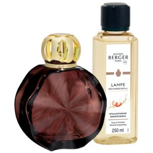 Set Berger lampa catalitica Berger Cercle Prune cu parfum Exquisite Sparkle
