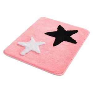 Covoras baie 50x60 cm, Alessia Home, All Star - Candy Pink