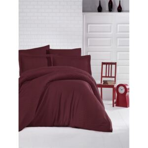 Lenjerie Damasc Regal LDR23 Bordo CSNT-5942658017366