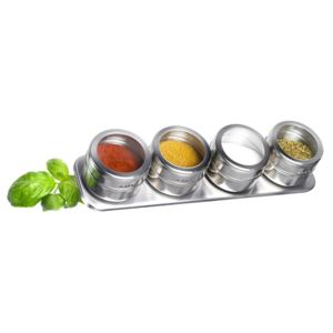 Set 4 recipiente condimente Westmark Spice Rack
