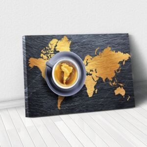 Tablou Canvas - A world of coffee