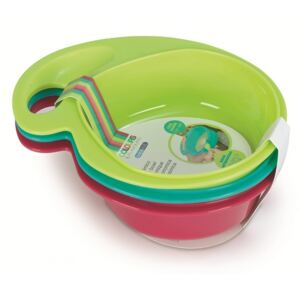 Set 3 boluri ergonomice BebeduE, 460 ml, Multicolor