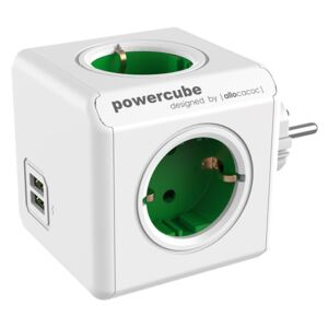 Priza Power Cube, 2 x USB, 4 Schuko, 16 A