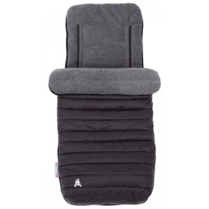 Sac de iarna Comfi-Snug Footmuff 2in1 Liquorice Black, husa inclusa