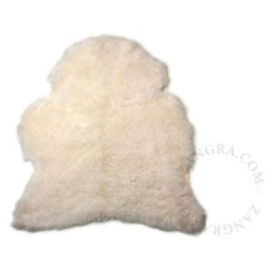 Blana naturala alba 100 cm Sheep Short Zangra