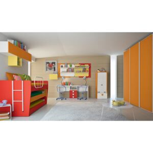 Dormitor complet Complete bedroom Eresem C106 Colombini Casa colorful and modern