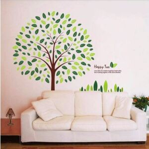 Autocolant Ambiance Happy Tree Wall