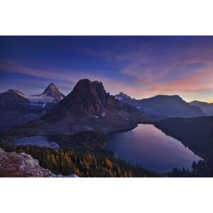 Fotografii artistice Twilight at Mount Assiniboine, Yan Zhang