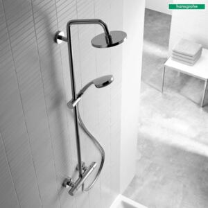 Coloana dus Hansgrohe Croma 160 cu termostat,crom-27135000