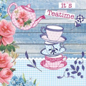Servetele decorative din hartie It's Teatime 20 buc
