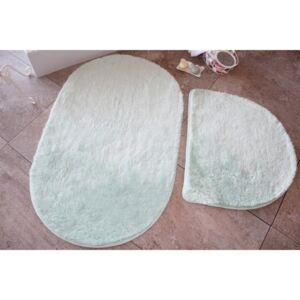 Set 2 covorase baie , Alessia Home, Colors of Oval - Mint