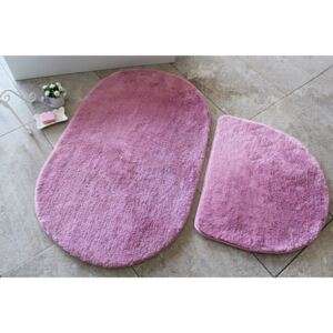 Set 2 covorase baie , Alessia Home, Colors of Oval - Lilac