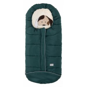 Nuvita Junior Cuccioli sac de iarna 100 cm - Dog Dark Green Beige 9605