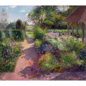 Morning Break in the Garden, 1994 Reproducere, Timothy Easton