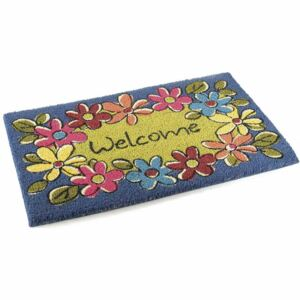 Covoras Welcome Flowers 60 cm x 40 cm