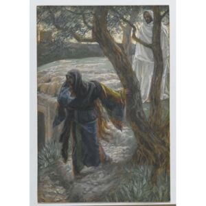 Jesus Appears to Mary Magdalene, illustration from 'The Life of Our Lord Jesus Christ', 1886-94 Reproducere, James Jacques Joseph Tissot