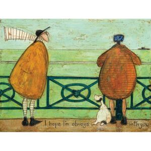 Tablou canvas - Sam Toft, I Hope I'm Always with You