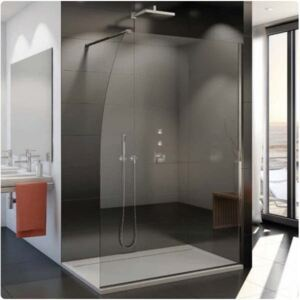 Cabina dus Walk-in SanSwiss Easy STR4PS 100 x H200 cm sticla securizata