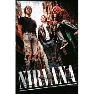 Nirvana - alley Poster, (61 x 91,5 cm)