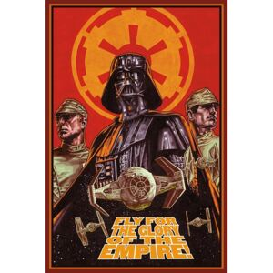 Poster - Star Wars (Fly for Glory)