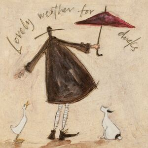 Tablou canvas - Sam Toft, Lovely Weather for Ducks