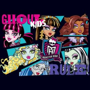 Fototapet: Monster High (6) - 254x368 cm